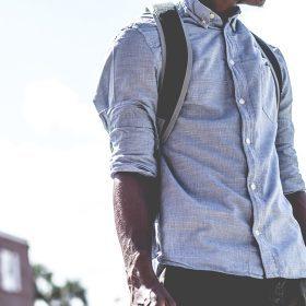 Męskie koszule z długim rękawem