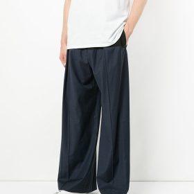 Męskie spodnie z szeroką nogawką