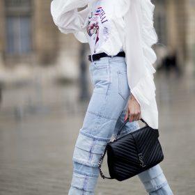 Damskie jeansy zwężane