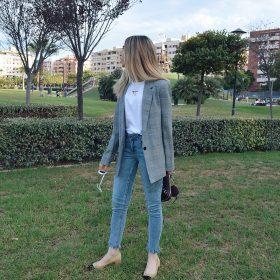 Musthave: de dames blazer met ruit