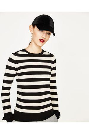 Kobieta Swetry i Pulowery - Zara SWETER Z FALBANKAMI PRZY MANKIETACH - Dostępny w innych kolorach