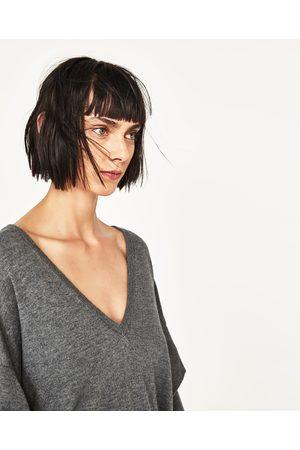 Kobieta Swetry i Pulowery - Zara SWETER Z FALBANKAMI - Dostępny w innych kolorach