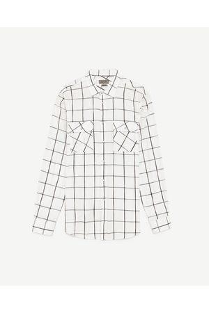 Mężczyzna Koszule - Zara KOSZULA W KRATĘ