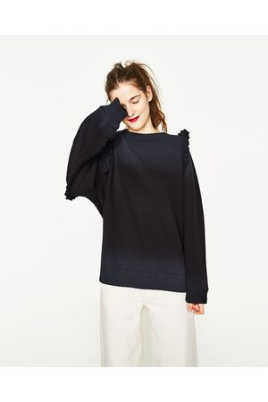 Kobieta Bluzy - Zara BLUZA Z FALBANKAMI