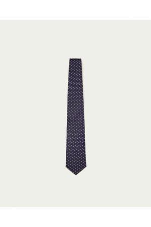 Mężczyzna Krawaty - Zara CONTRASTING DESIGN TIE