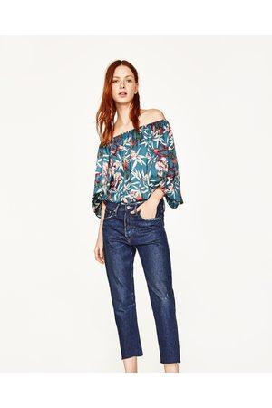 a2d57f5751510d nadrukiem damskie body Zara, porównaj ceny i kup online