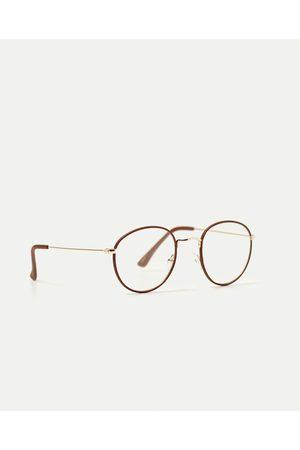 Kobieta Okulary przeciwsłoneczne - Zara OKULARY KOREKCYJNE W OKRĄGŁEJ OPRAWCE