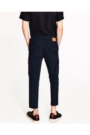 Mężczyzna Spodnie Cargo - Zara SPODNIE CARGO - Dostępny w innych kolorach