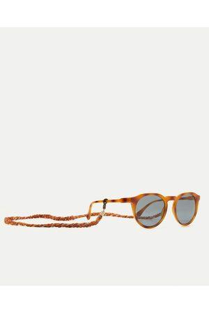 Kobieta Okulary przeciwsłoneczne - Zara OKULARY W OKRĄGŁEJ OPRAWCE Z TWORZYWA