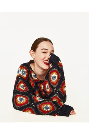 Kobieta Swetry i Pulowery - Zara CROCHET SWEATER