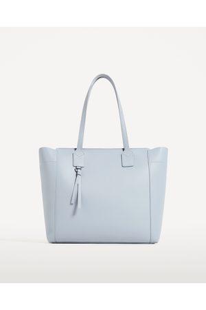 Kobieta Torby shopper - Zara TORBA SHOPPER Z SUWAKIEM - Dostępny w innych kolorach