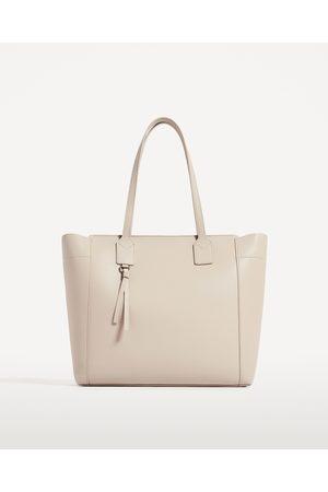 2ebad62bd4a44 Kobieta Torby shopper - Zara TORBA SHOPPER Z SUWAKIEM - Dostępny w innych  kolorach
