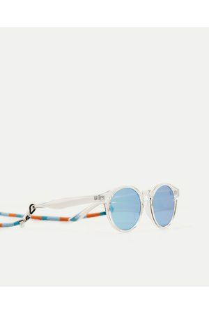 Kobieta Okulary przeciwsłoneczne - Zara OKULARY W OPRAWCE Z PRZEZROCZYSTEGO TWORZYWA