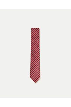 Mężczyzna Krawaty - Zara KRAWAT W DROBNE PASKI