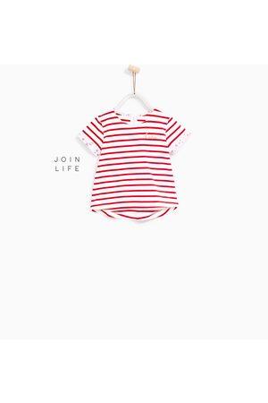 T-shirty - Zara KOSZULKA W PASKI Z KOLEKCJI BASIC - Dostępny w innych kolorach