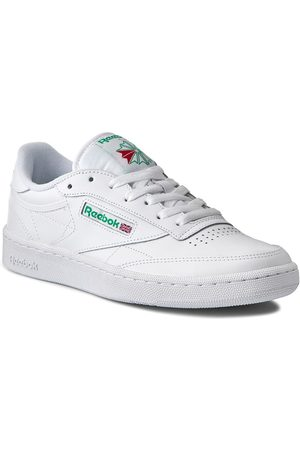 Reebok Buty - Club C 85 AR0456 White/Green