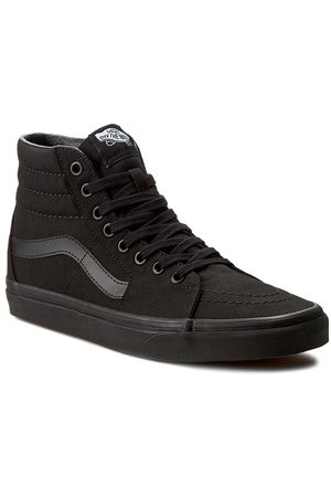 Vans Kobieta Topy i T-shirty - Sneakersy - Sk8-Hi VN000TS9BJ4 Black/Black/Black