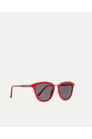 Kobieta Okulary przeciwsłoneczne - Zara OKULARY TYPU KOCIE OCZY
