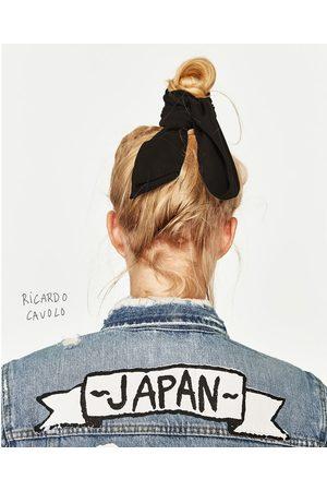"""Kobieta Kurtki - Zara KURTKA JEANSOWA """"JAPAN"""""""