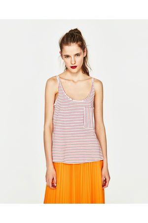 Kobieta T-shirty - Zara Dostępny w innych kolorach