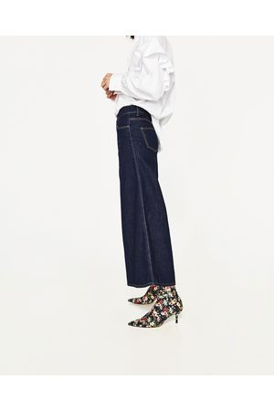 Zara JEANS THE SUPER WIDE LEG CULOTTE