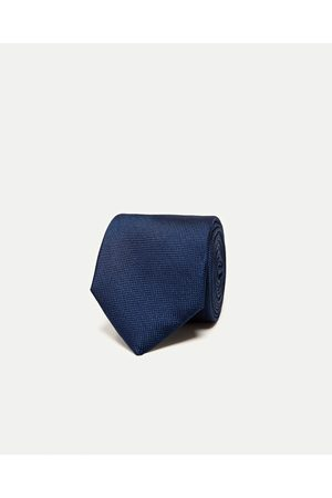 Mężczyzna Krawaty - Zara SZEROKI PÓŁMATOWY KRAWAT - Dostępny w innych kolorach