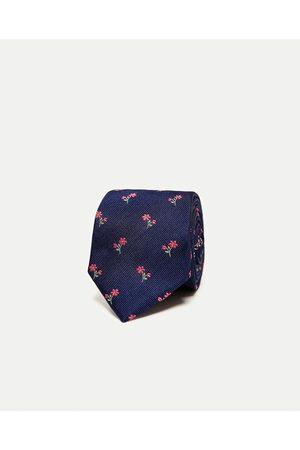 Mężczyzna Krawaty - Zara KRAWAT W KWIATY