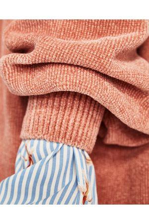Kobieta Swetry i Pulowery - Zara SZENILOWY SWETER - Dostępny w innych kolorach