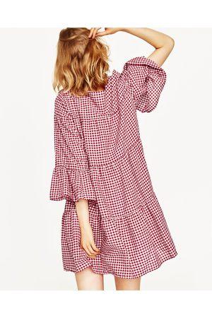 a2d8353452 czerwona damskie sukienki Zara