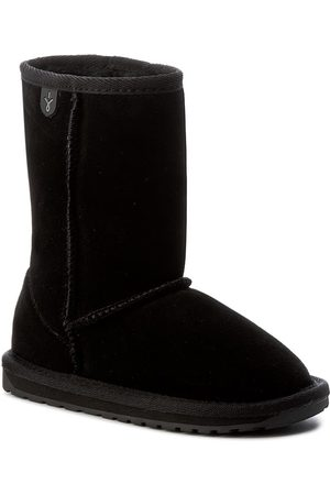 Emu Buty - Wallaby Lo Kids K10102 Black