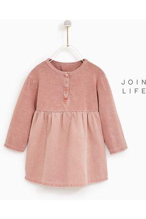 rozowa niemowlęce sukienki Zara, porównaj ceny i kup online
