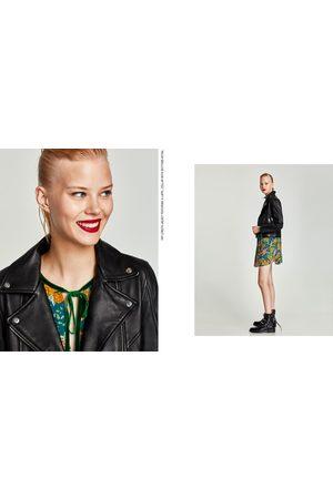 7230f3886b27a sklep odzież damskie kurtki skórzane Zara, porównaj ceny i kup online