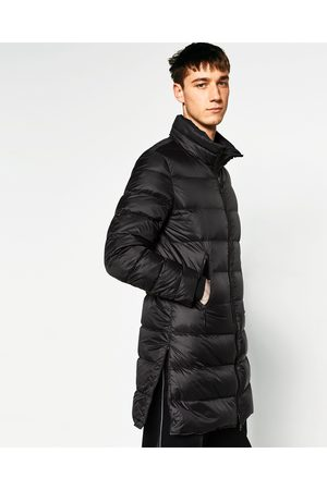 płaszcz męski długi zara