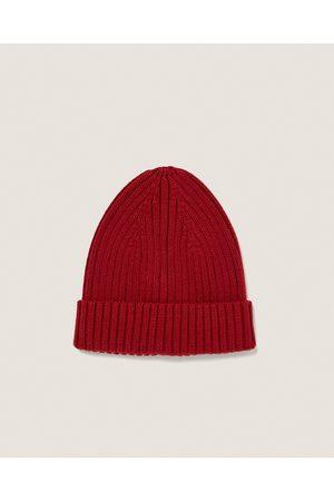 Zara WIDE RIBBED HAT - Dostępny w innych kolorach