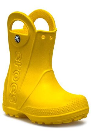 Crocs Kalosze - Handle It Rain 12803 Yellow