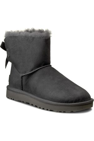 UGG Buty - W Mini Bailey Bow II 1016501 W/Grey