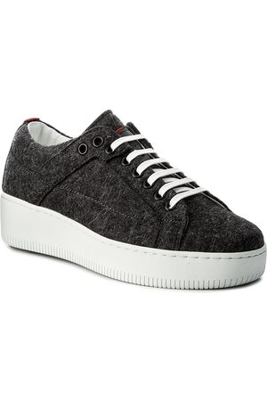 6985fb78 HUGO BOSS Sneakersy - Margaret-FT 50376711 10202341 01 Charcoal 011