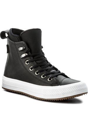 Converse Kobieta Botki - Sneakersy - Ctas Wp Boot Hi 557943C Black/Black/White