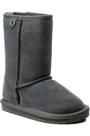 Emu Buty - Wallaby Lo K10102 Charcoal/Anthracite