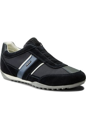 Geox Sneakersy - U Wells A U82T5A 02211 C4002 Navy