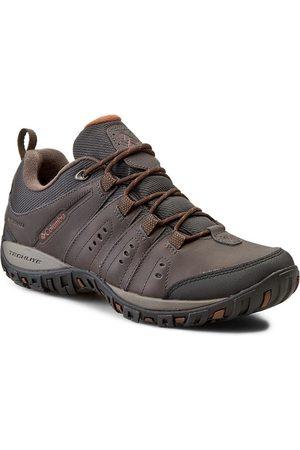 Columbia Mężczyzna Buty trekkingowe - Trekkingi - Peakfreak Nomad Waterproof BM3924 Cordovan/Cinnamon 231