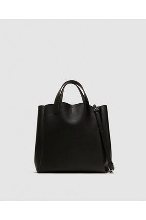 0bd935c3b8d85 dostępny innych damskie torby shopper Zara, porównaj ceny i kup online
