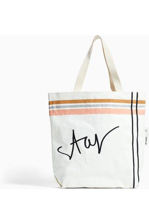 "Zara TORBA TYPU SHOPPER ""STAR"""