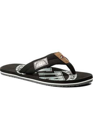 Tommy Hilfiger Japonki - Essential Th Beach Sandal FM0FM01369 Black 990
