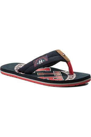 Tommy Hilfiger Japonki - Essential Th Beach Sandal FM0FM01369 Midnight 403