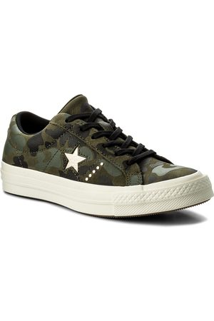 Converse Tenisówki - One Star Ox 159703C Herbal/Light Gold/Egret