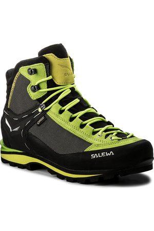 Salewa Mężczyzna Buty trekkingowe - Trekkingi - Crow Gtx GORE-TEX 61328-5320 Cactus/Sulphur Spring