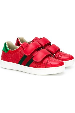 Gucci Chłopiec Sneakersy - Red