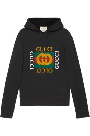 Gucci Mężczyzna Bluzy z kapturem - Black