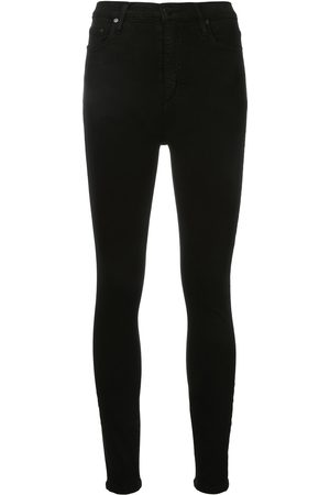 NOBODY DENIM Kobieta Skinny - Black